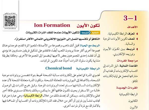الرابطة الكيميائية