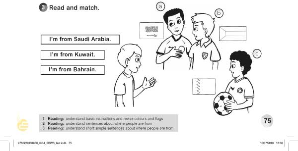 3.Read and match