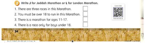 Write J Jeddah Marathon