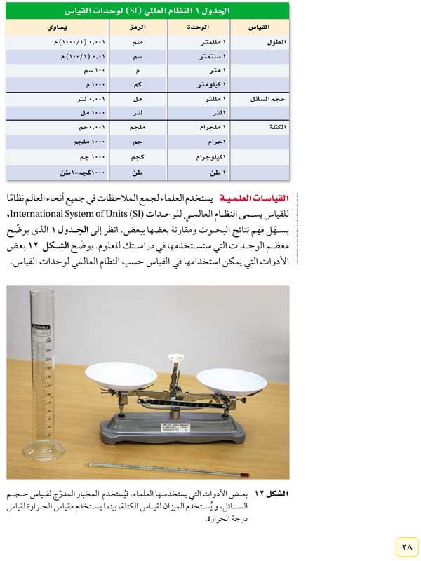 القياسات العلمية