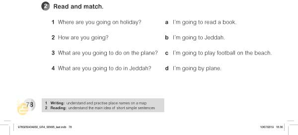 2.Read and match