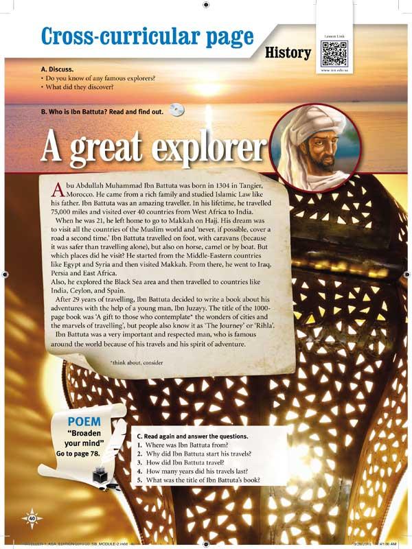A great explorer