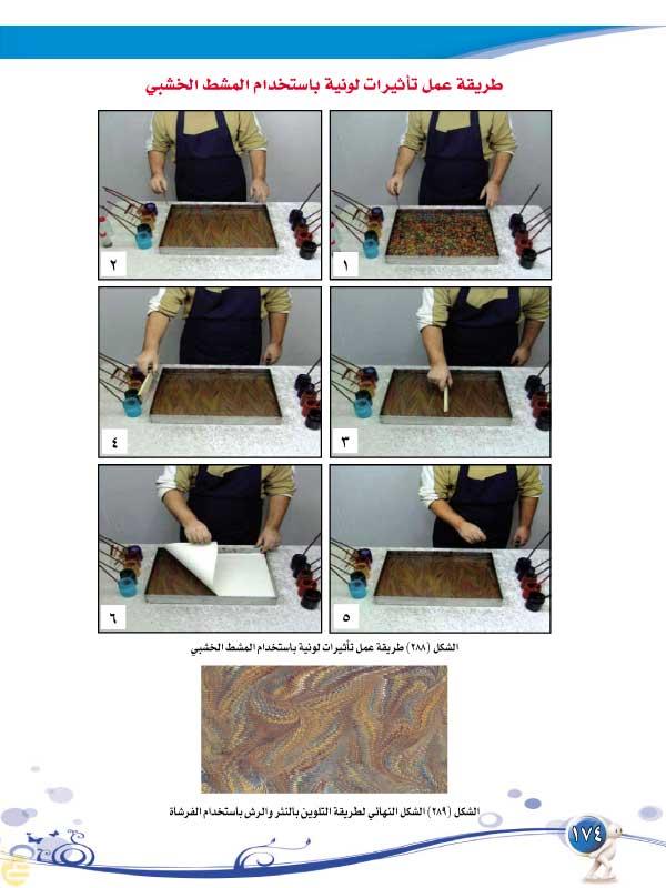 الموضوع العاشر: صناعة الورق، التجليد، والرسم على الماء