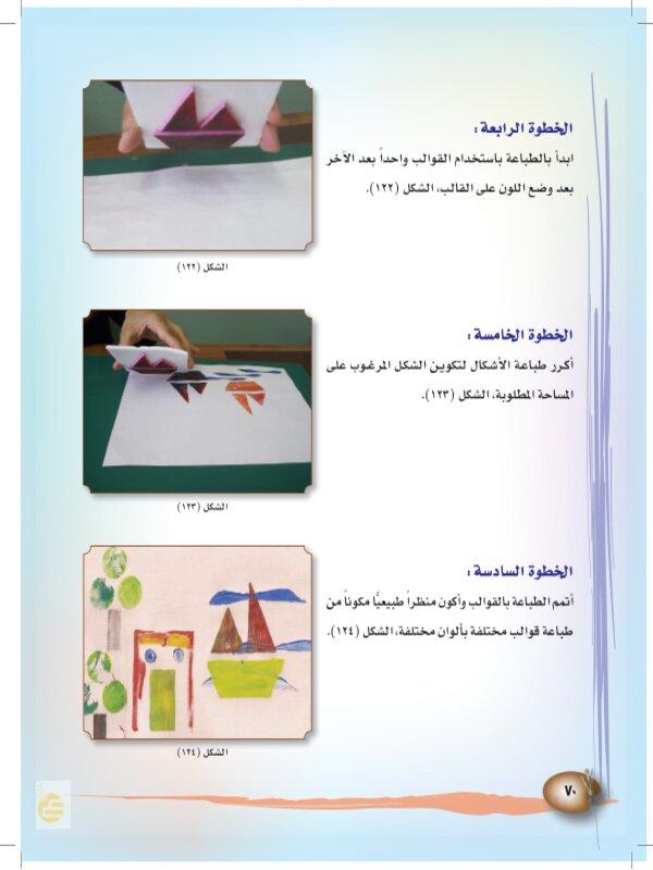 تكوينات وملامس مطبوعة