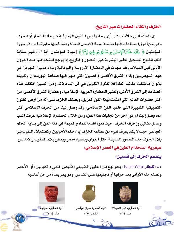 الموضوع السابع: الفنون الإسلامية