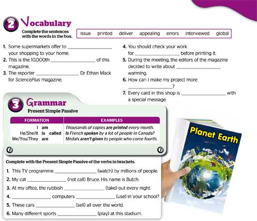 Vocabulary - Grammar
