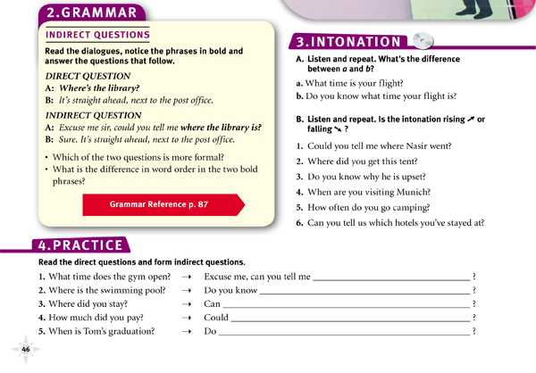 "GRAMMAR""INDIRECT QUESTIONS"