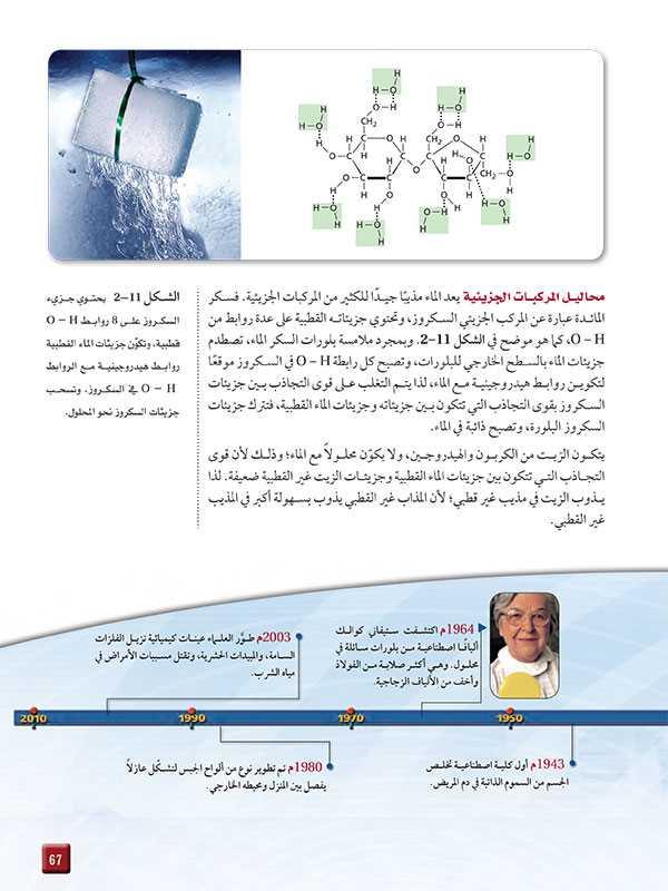 محاليل المركبات الجزيئية