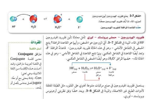 فلوريد الهيدروجين - حمض بونستد - لوري