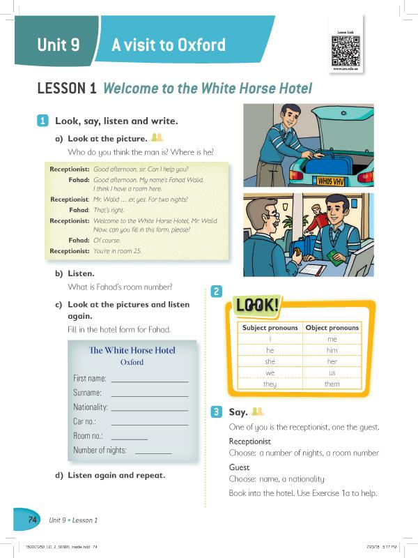 Lesson 1 ( 1 , 2 , 3 )