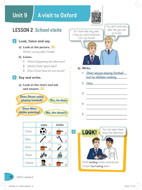 Lesson 2 ( 1  , 2, 3 )
