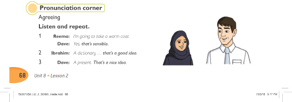 Pronunciation corner 2