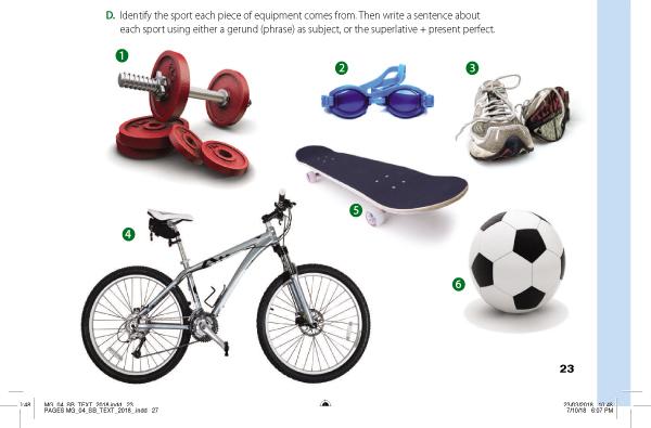D. Identify the sport each piece