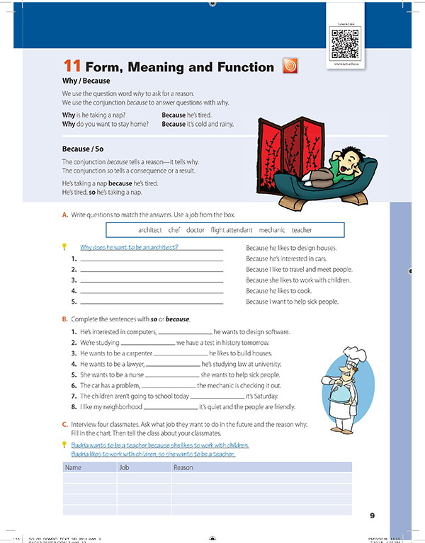 form, meaning and function