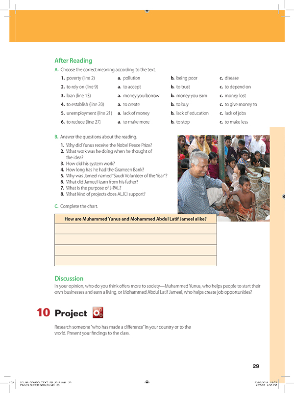 after reading  AND project-10