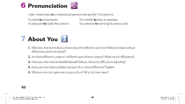 pronunciation-6 AND about you-7