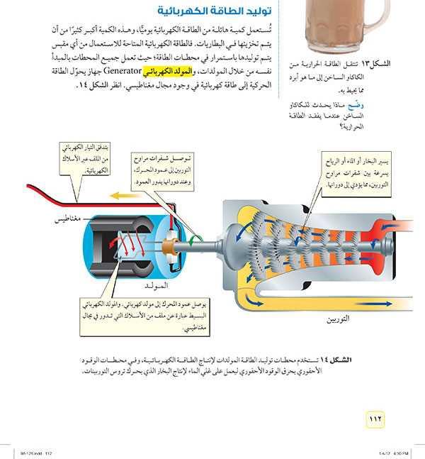توليد الطاقة الكهربائية