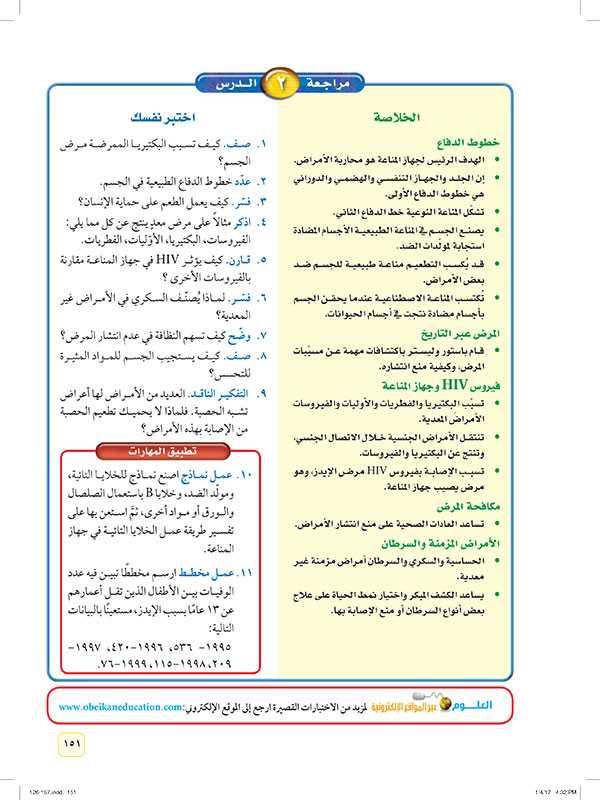 مراجعة 2 الدرس