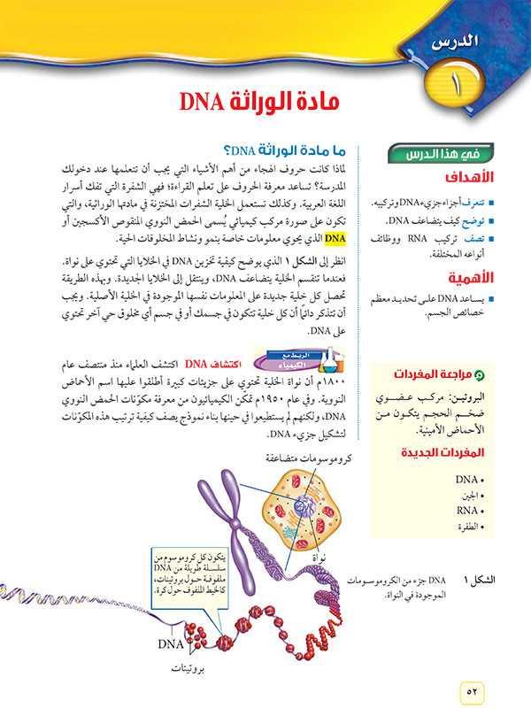 ما مادة الوراثة