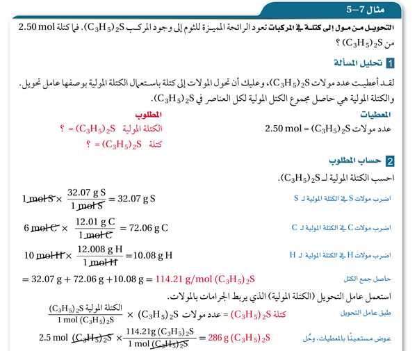 مثال 7-5