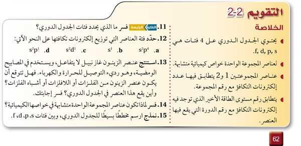 التقويم 2-2