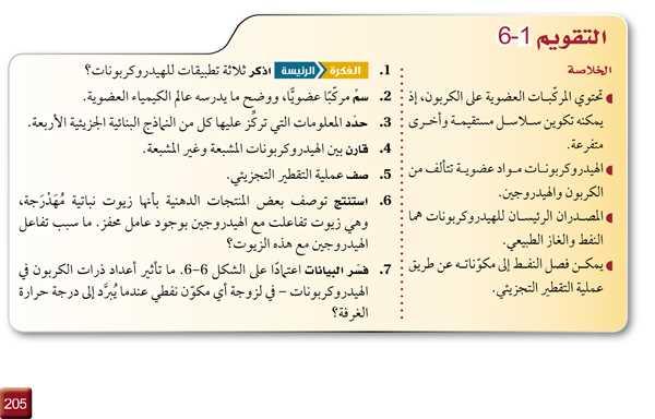 التقويم 1-6