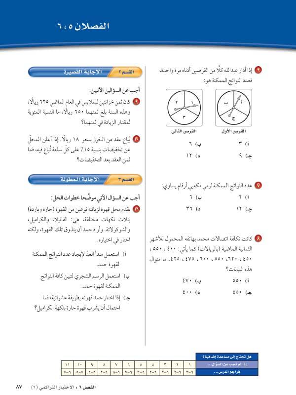 الاختبار التراكمي2
